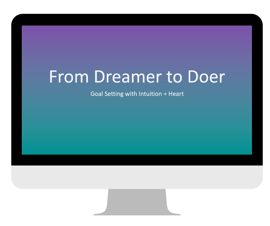 From Dreamer to Doer Masterclass
