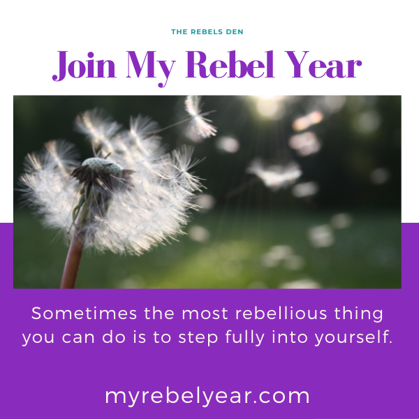Join my Rebel Year